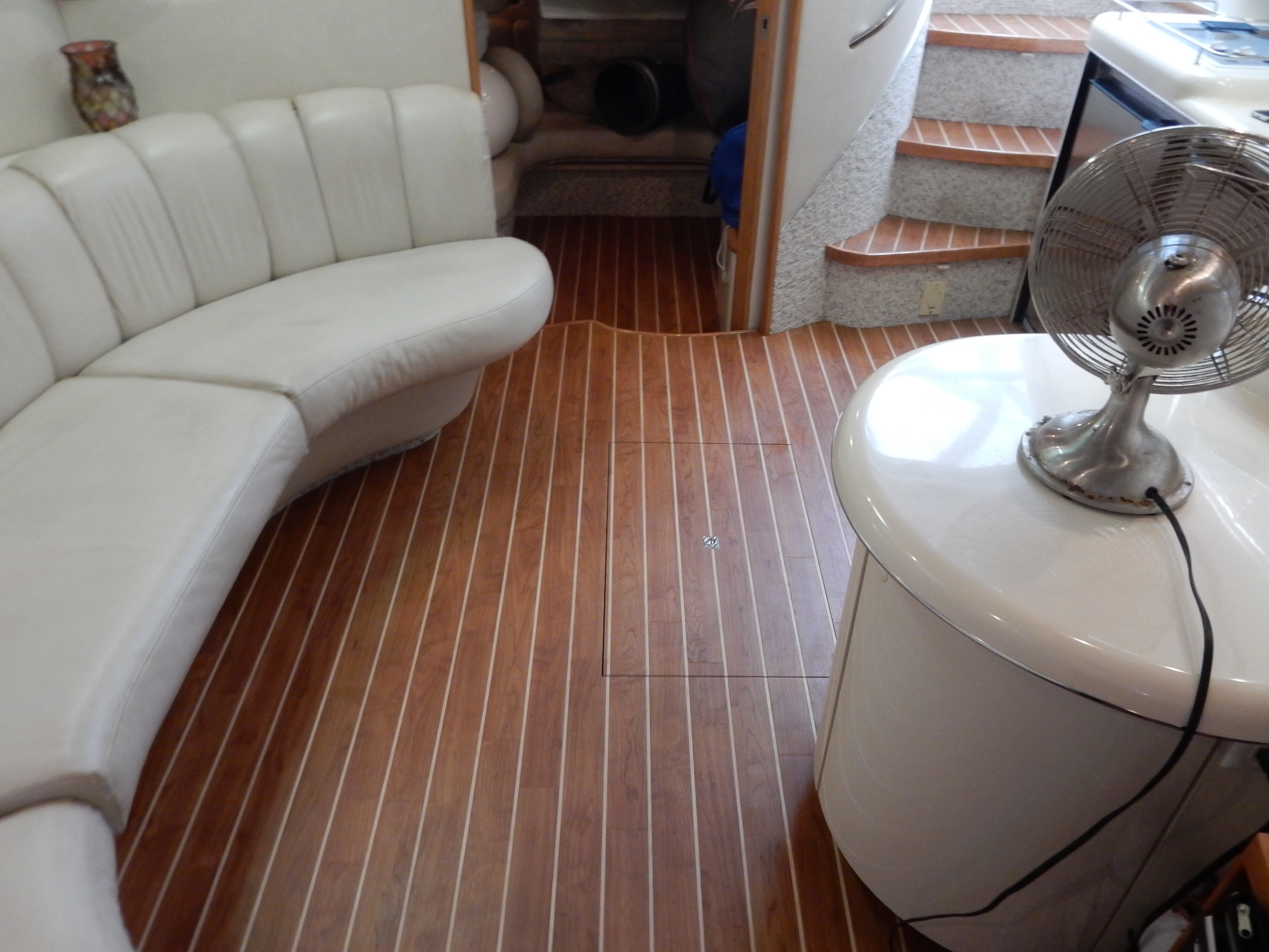 Marine Synthetic Wood Flooring