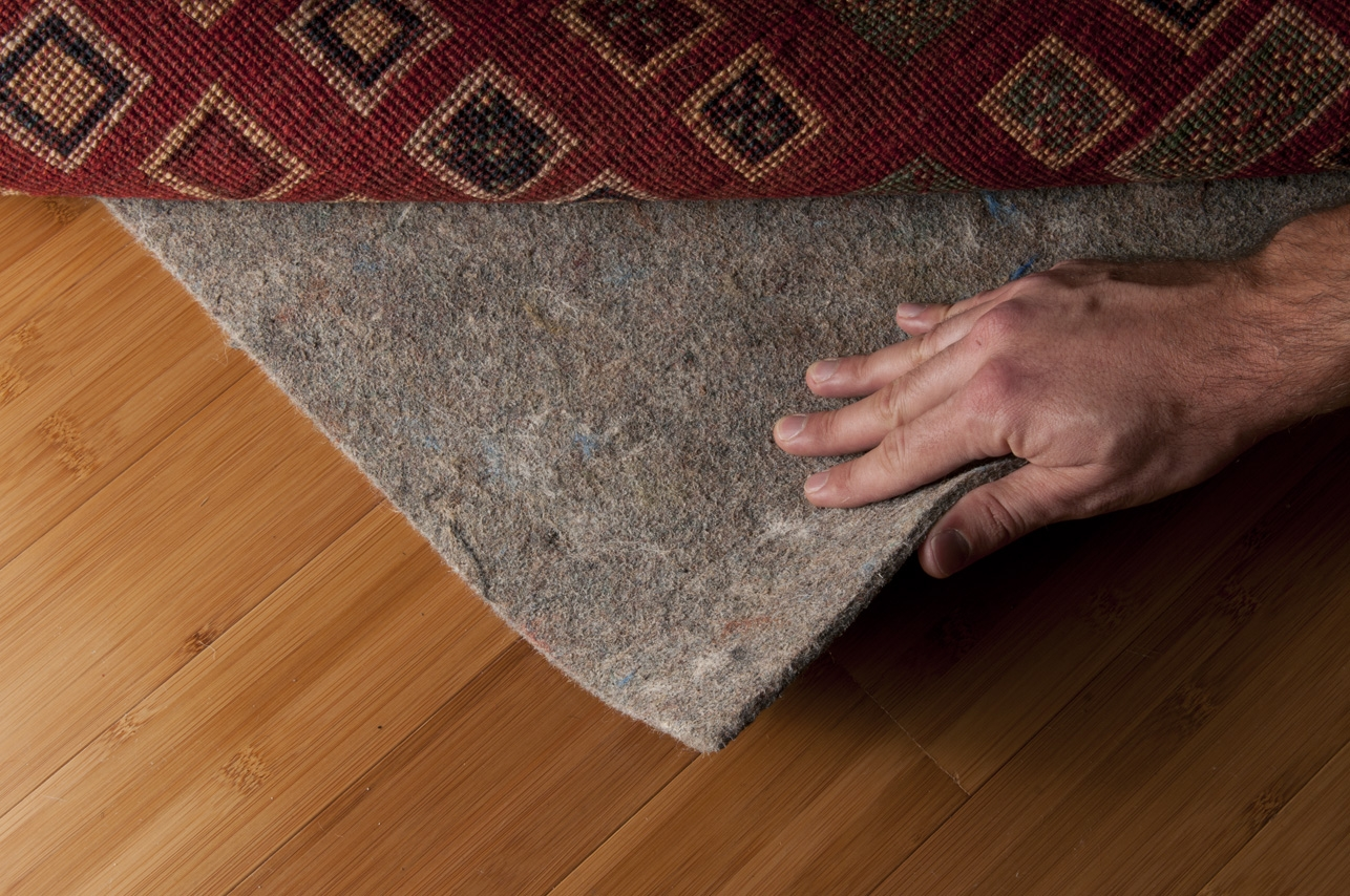 Natural Rubber Rug Pad For Wood Floors