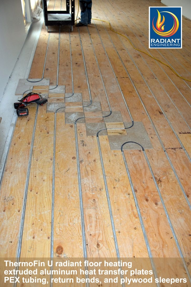 Radiant Floor Heating Wood Subfloor