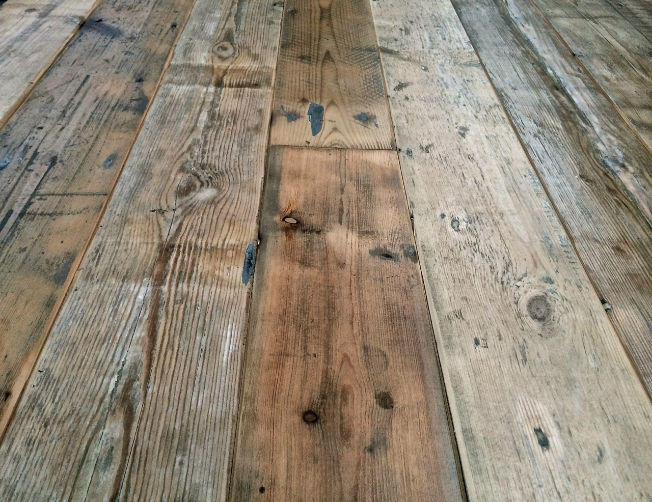 Reclaimed Wood Floorboards