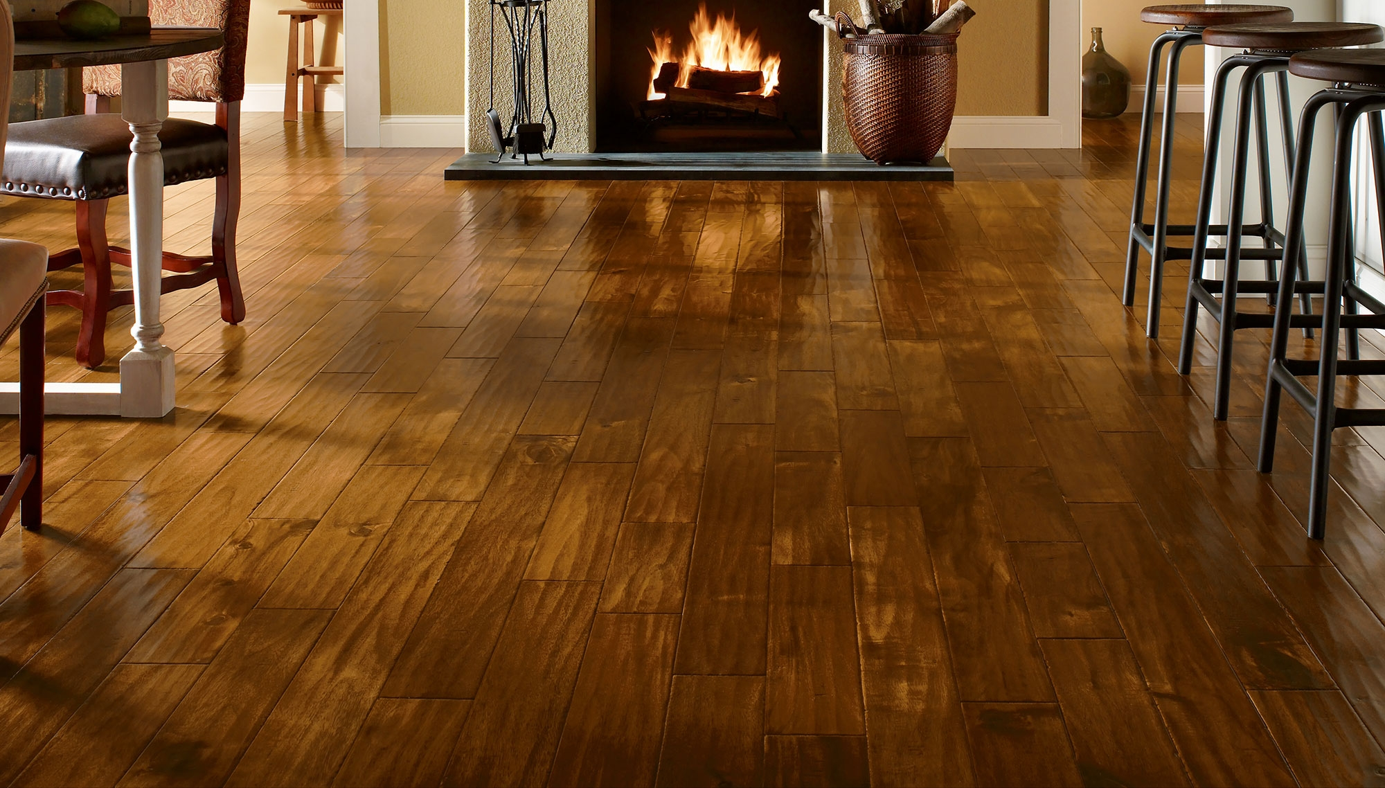 Spruce Wood Flooring Ideas
