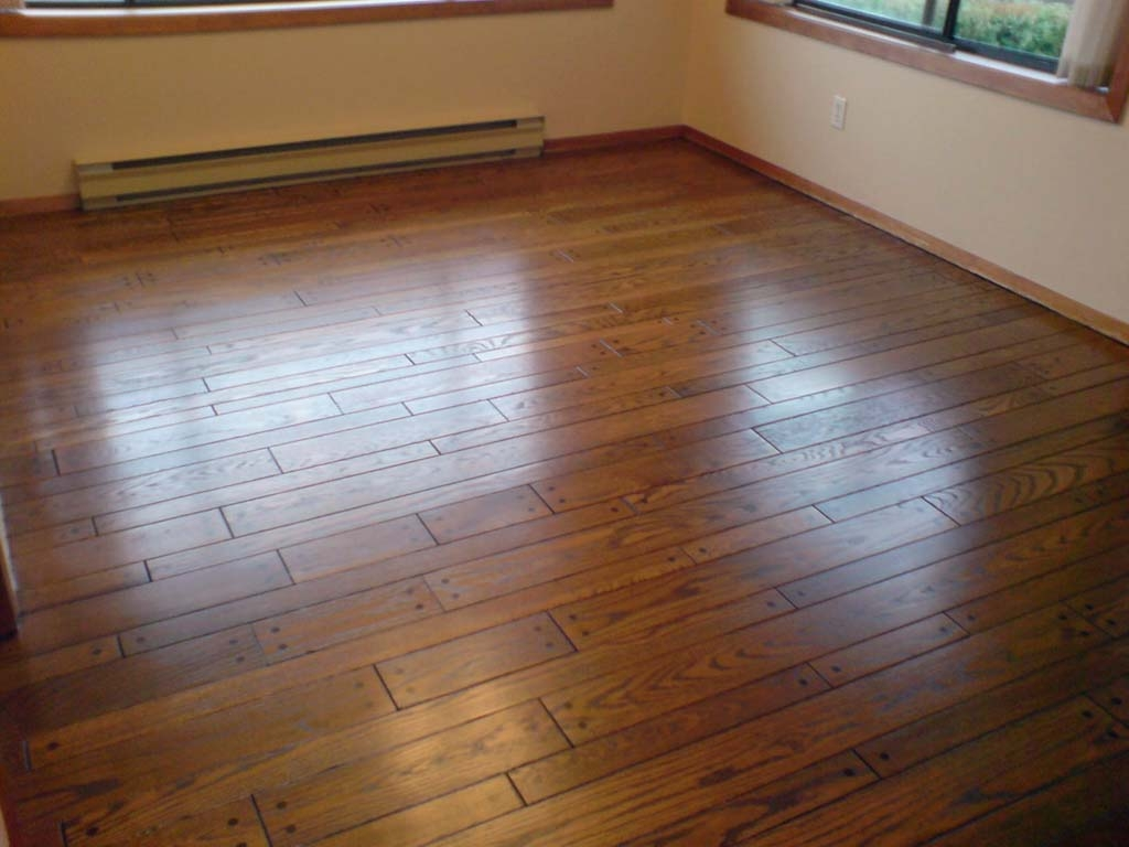Staining Wood Floors Darker Without Sanding