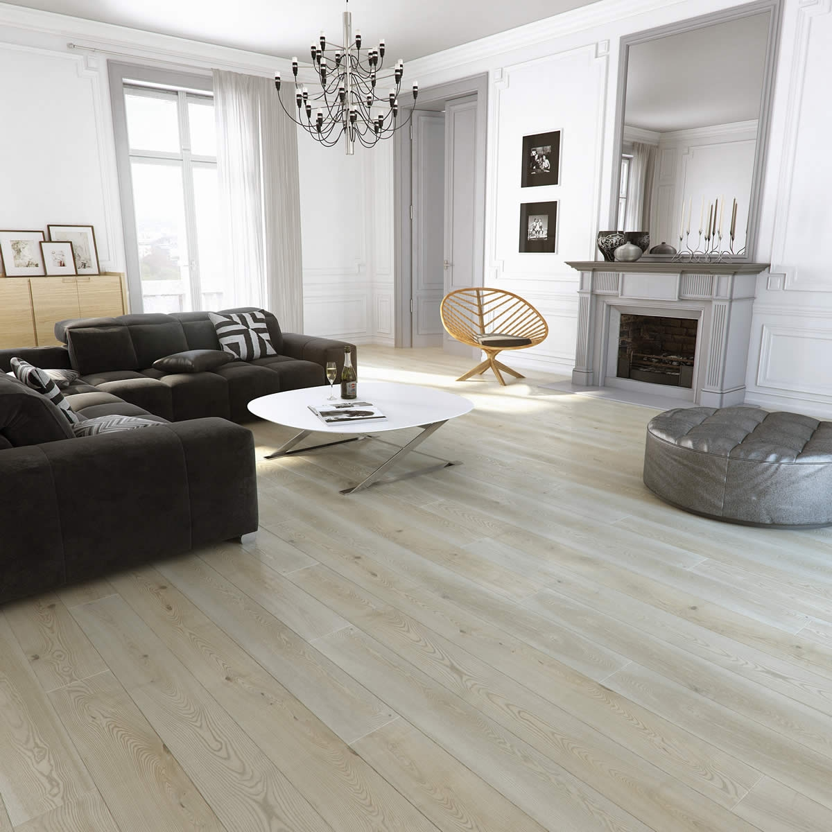 White Ash Solid Wood Flooring