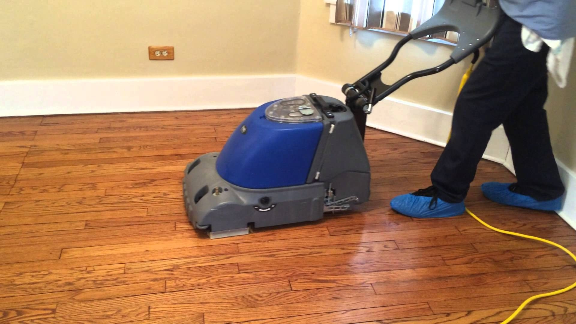 Wood Floor Buffing Machine Hire