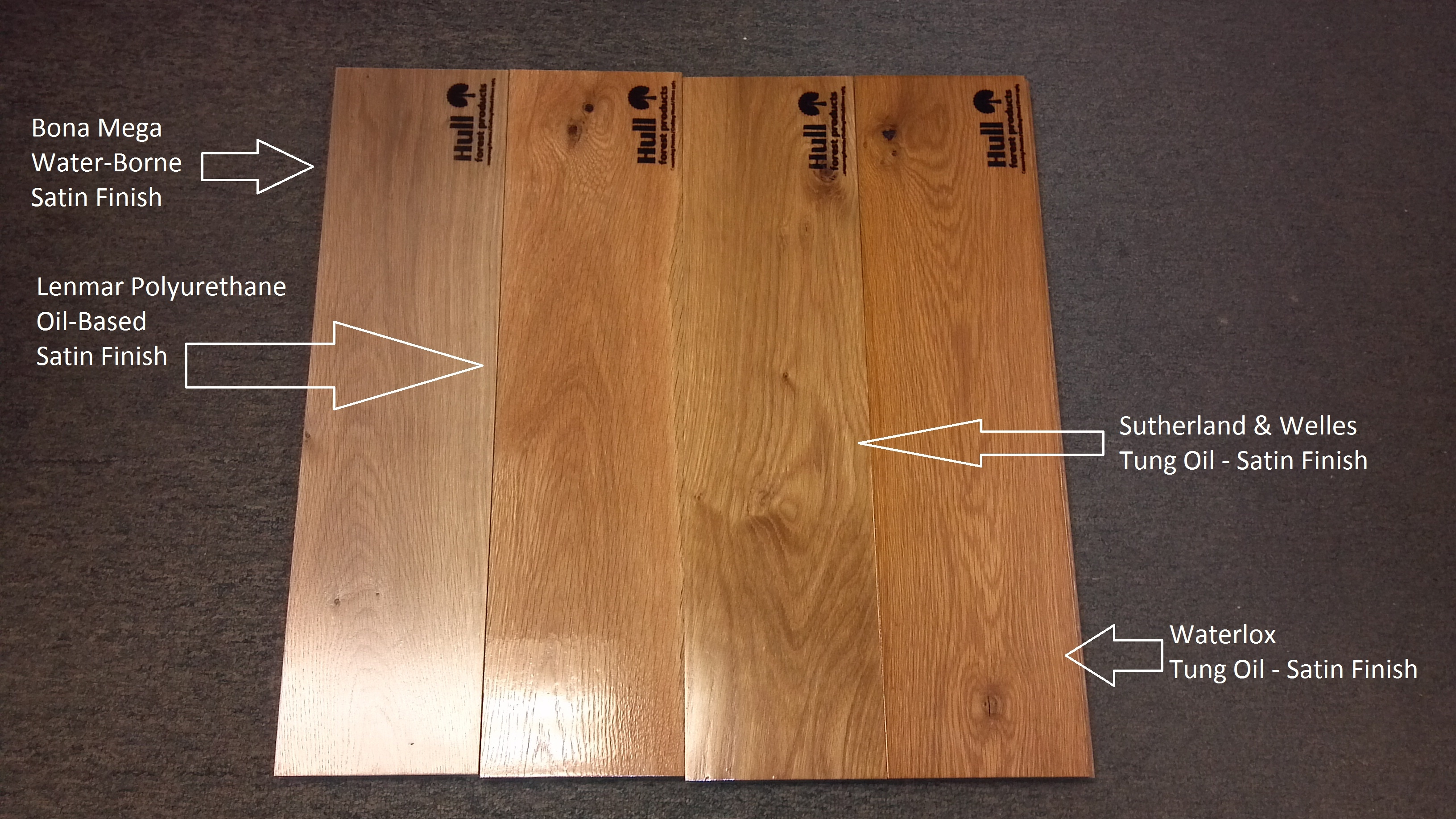 Wood Floor Types Comparison