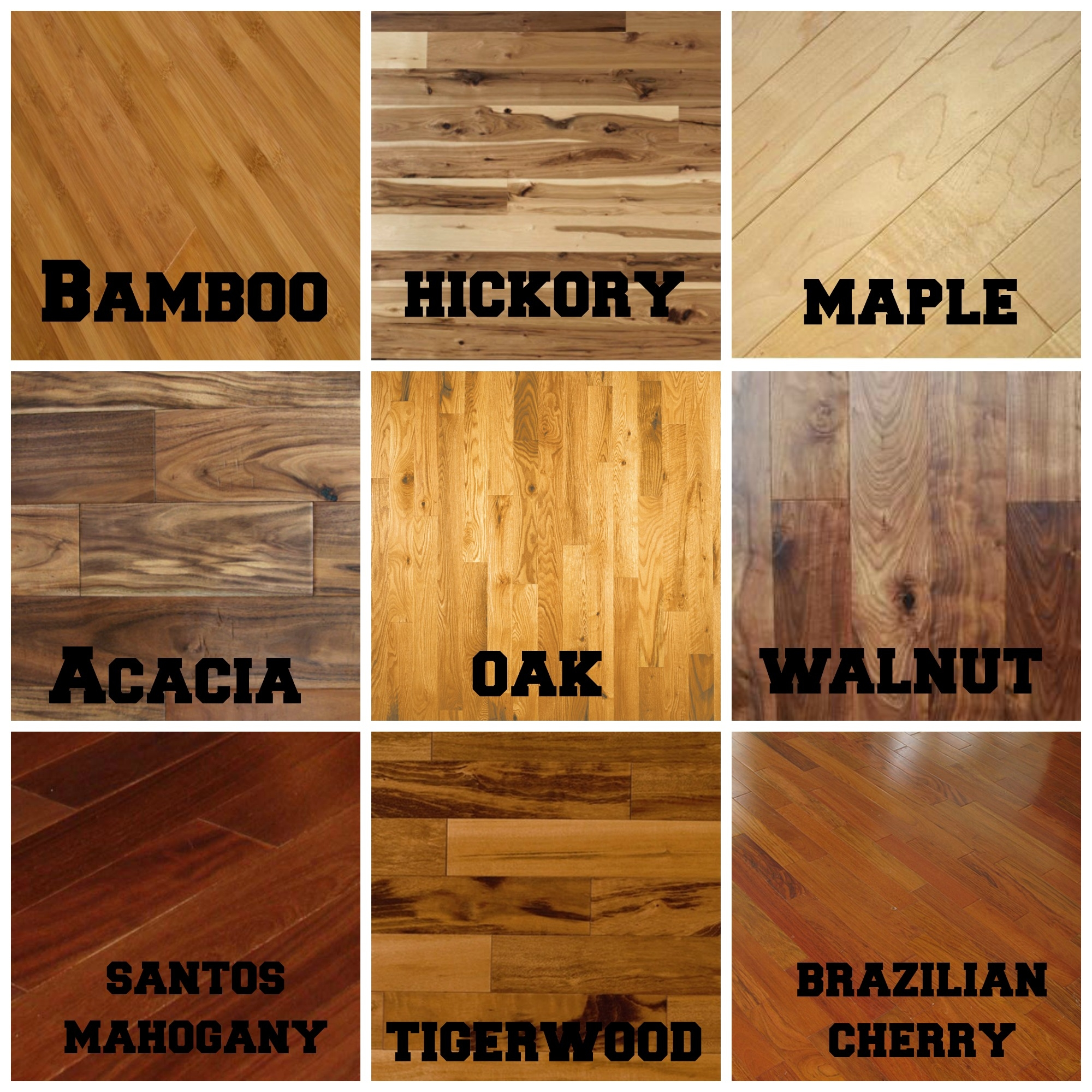 Wood Flooring Comparison