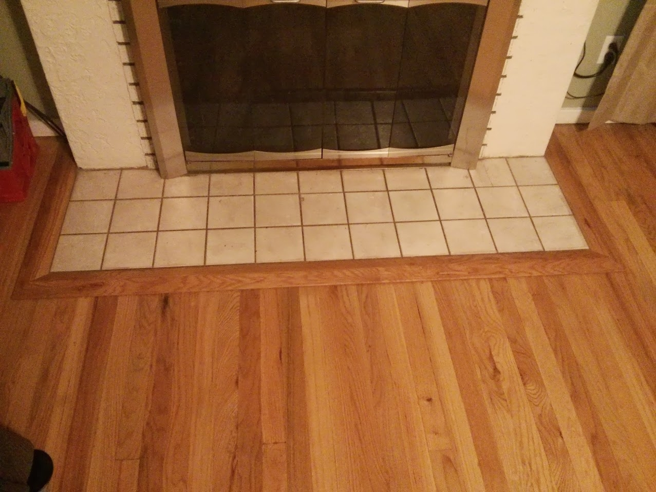 Wood Flooring Threshold Transition