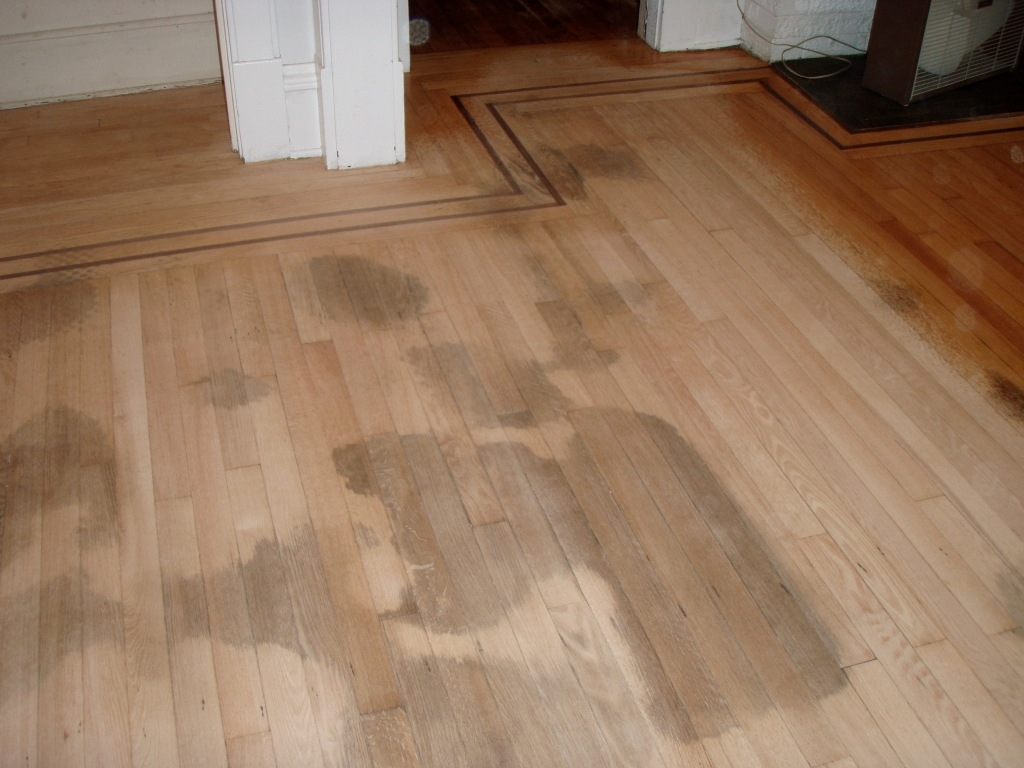 Bleach Wood Floor Stains