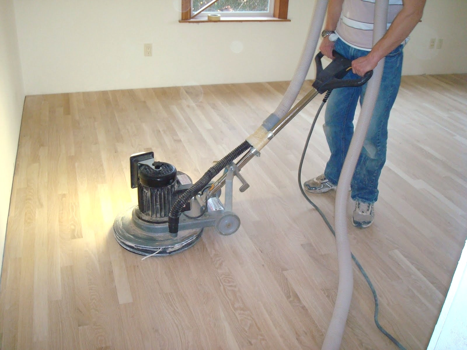 Buffing Machine For Wooden Floors