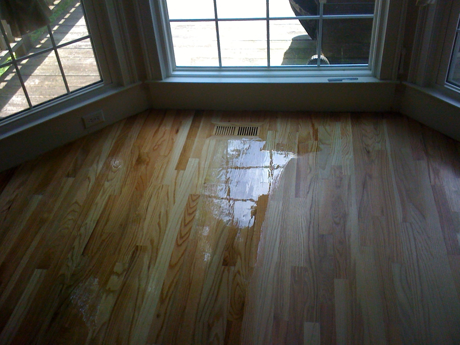 Buffing Wood Floor Finishes