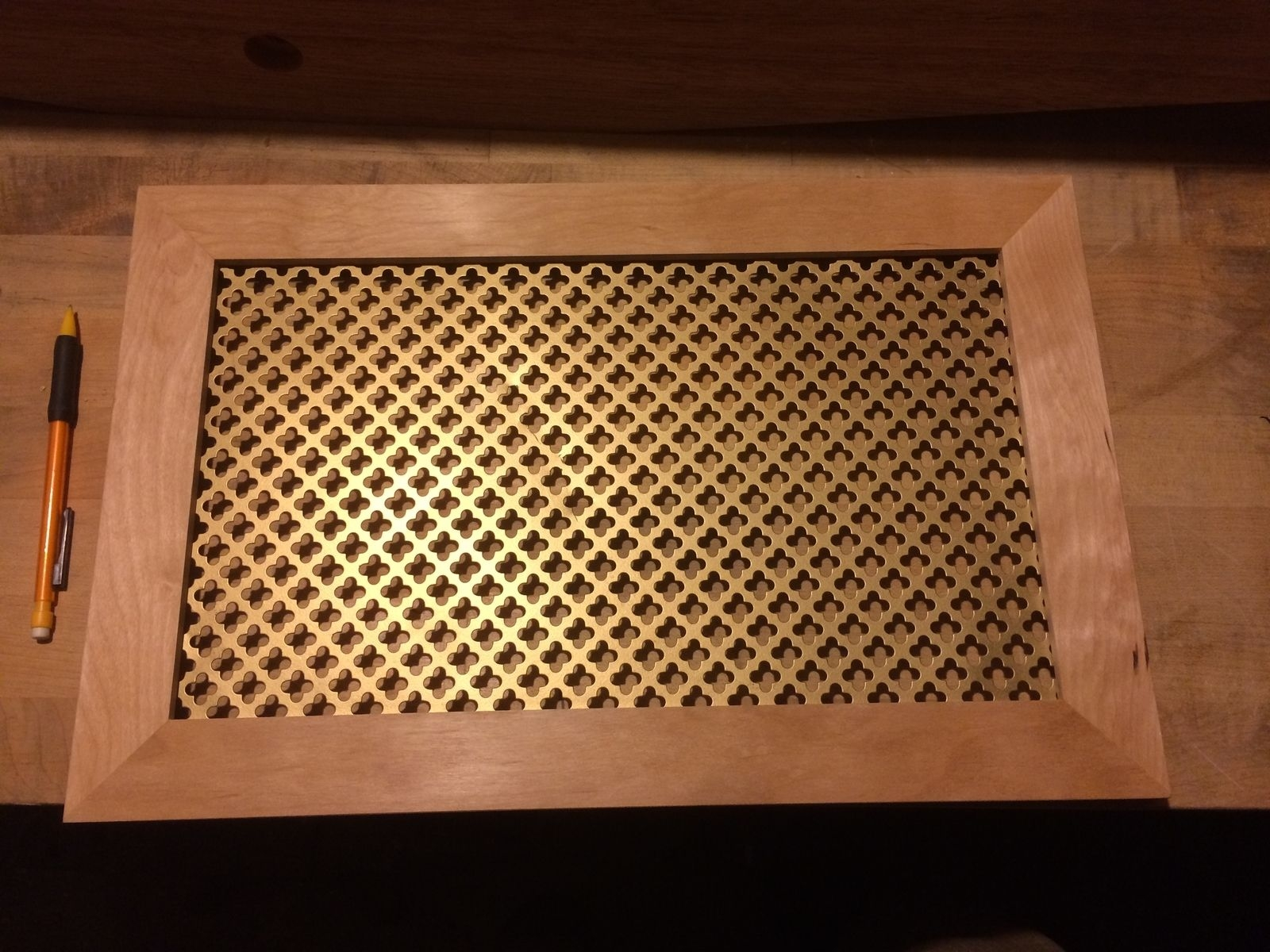 Custom Wood Floor Vent Covers