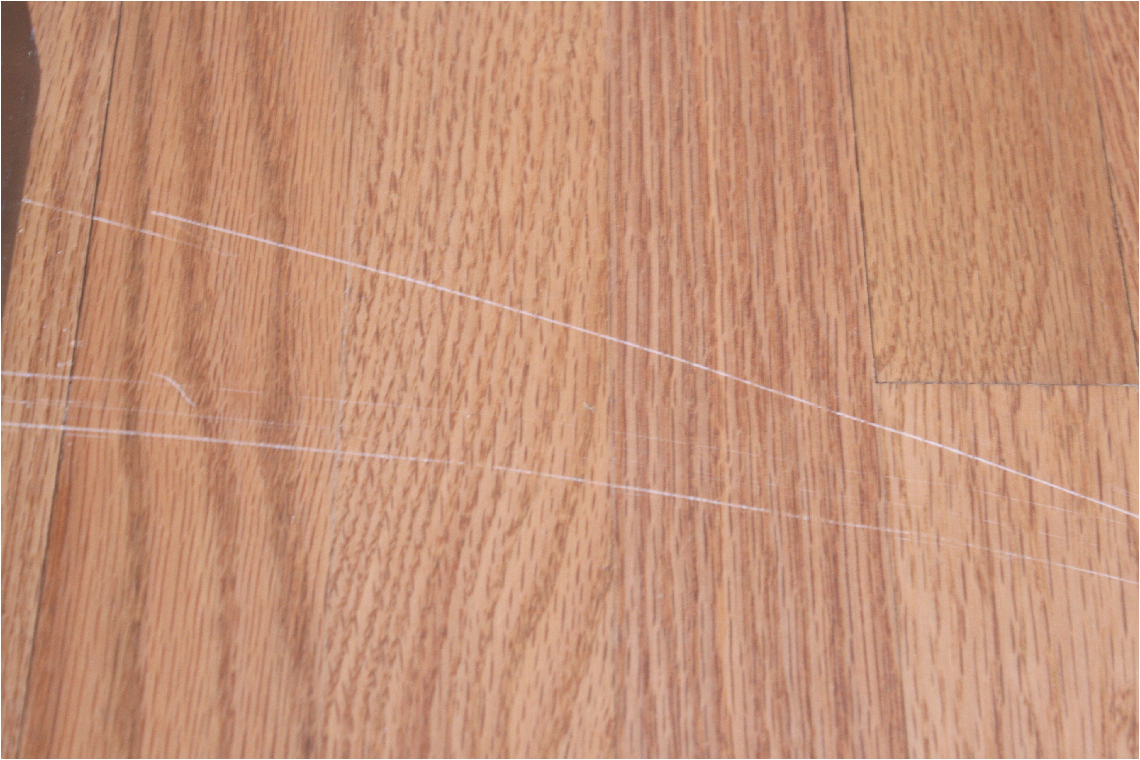 Fixing Deep Scratches On Wood Floors