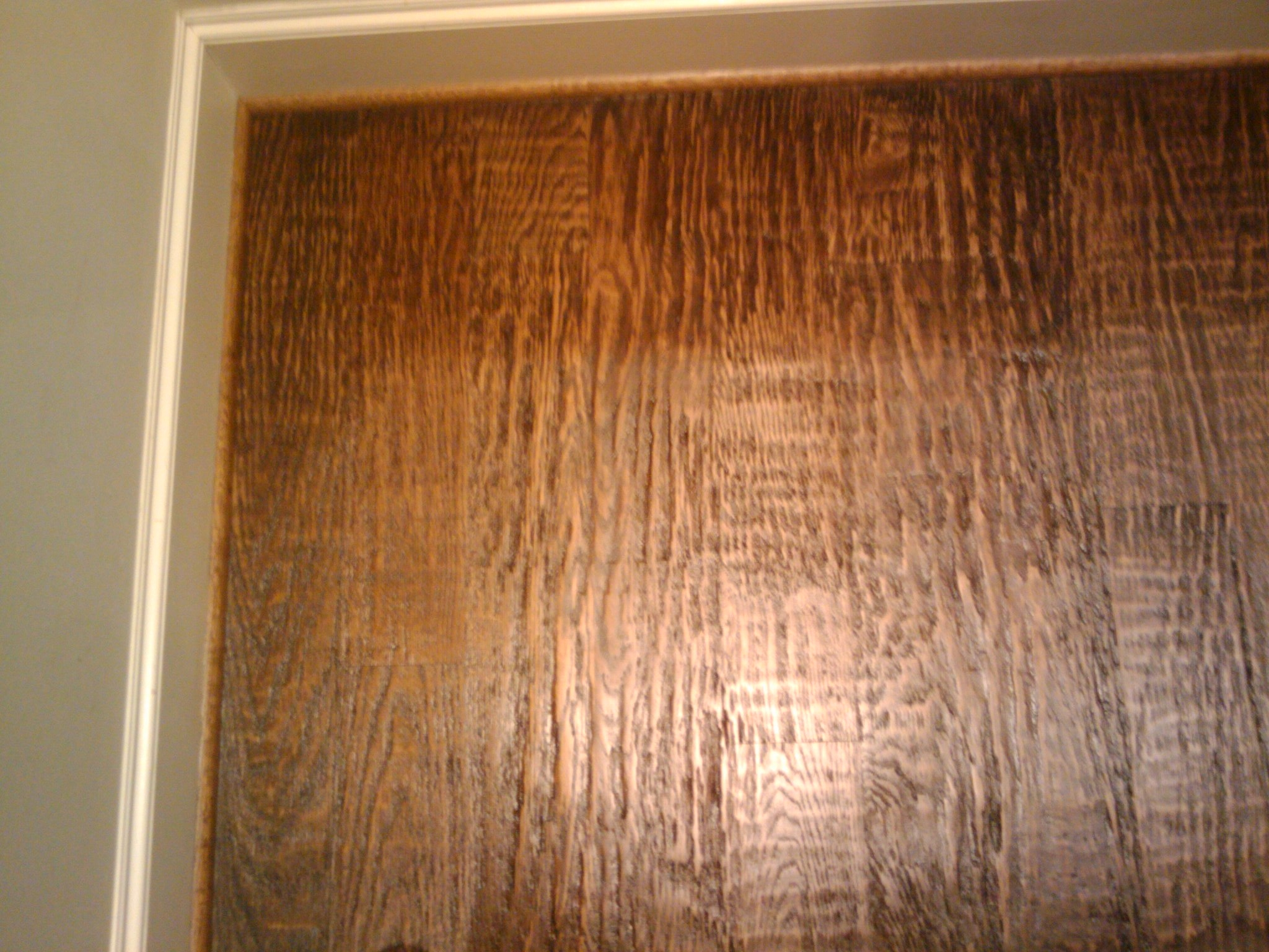 Hand Scraped Wood Floors With The Grain