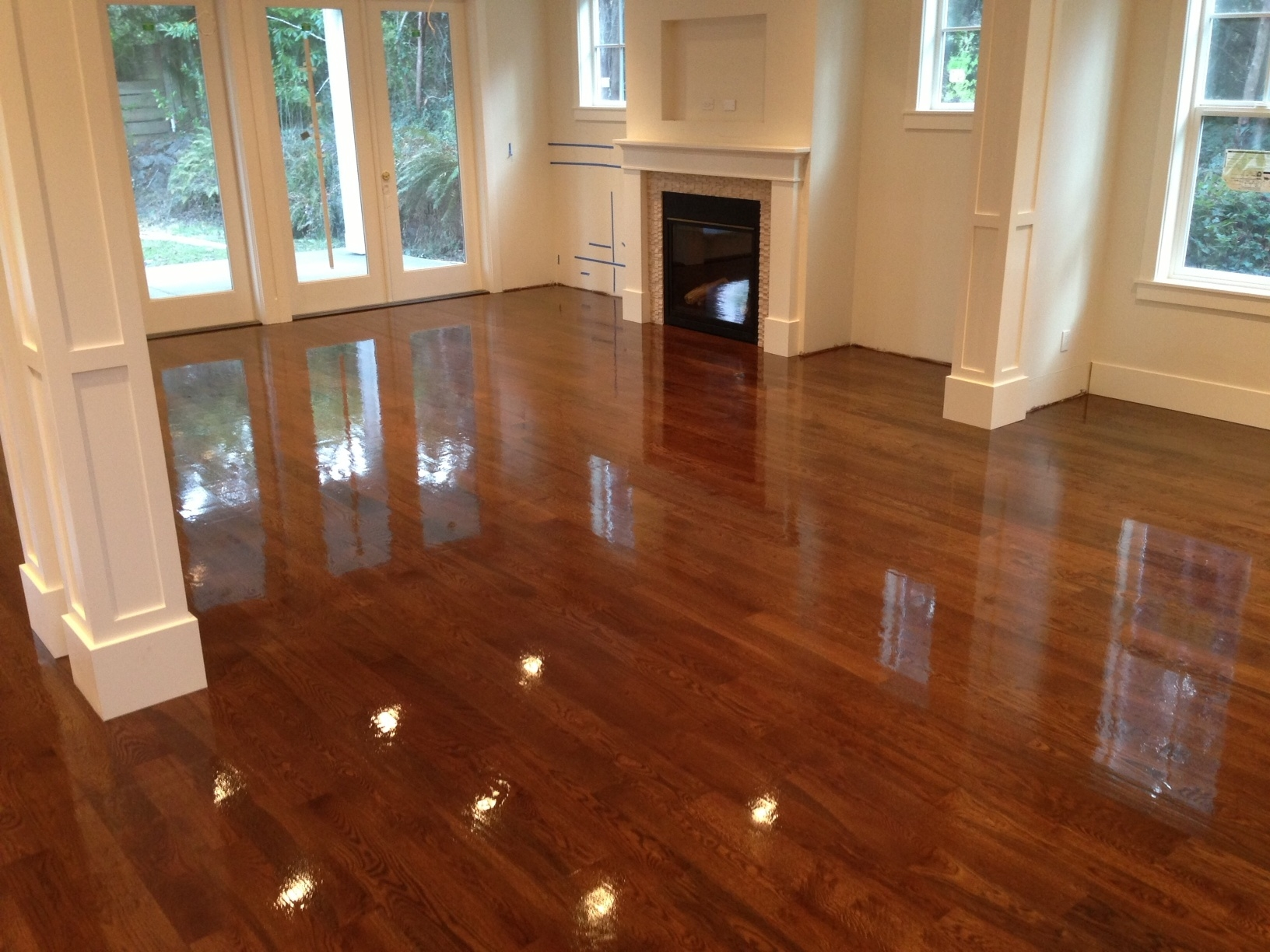 Hard Wood Floor Finishers