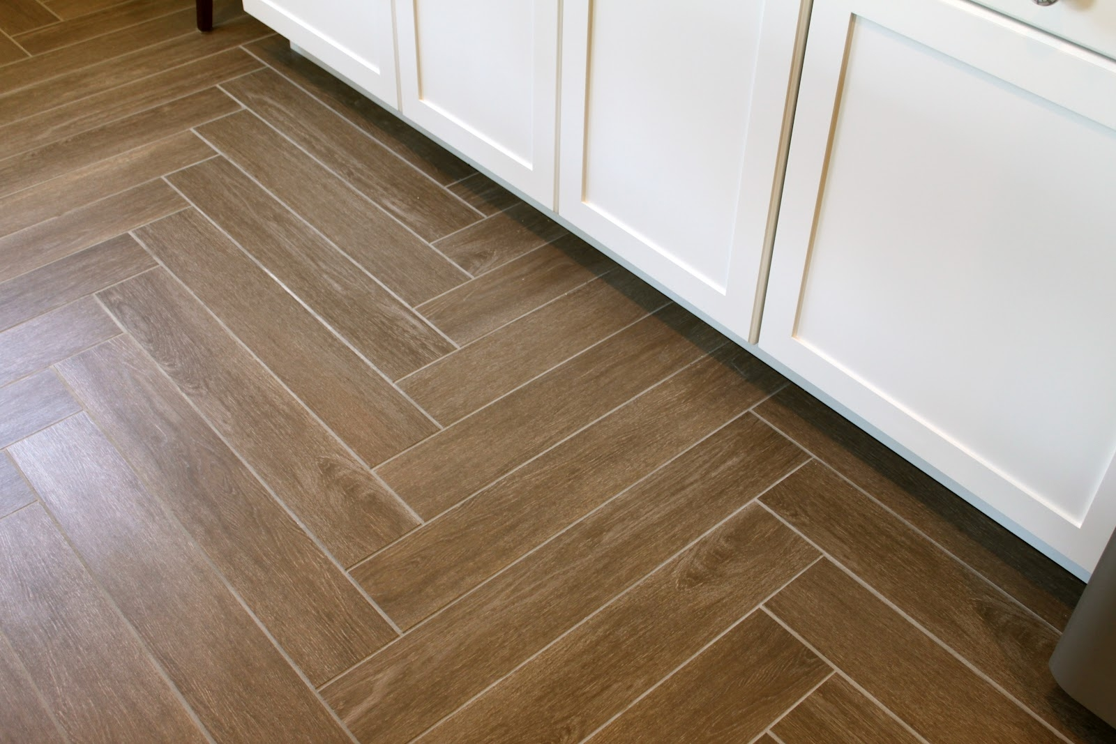 Permalink to Herringbone Pattern Wood Tile Floor