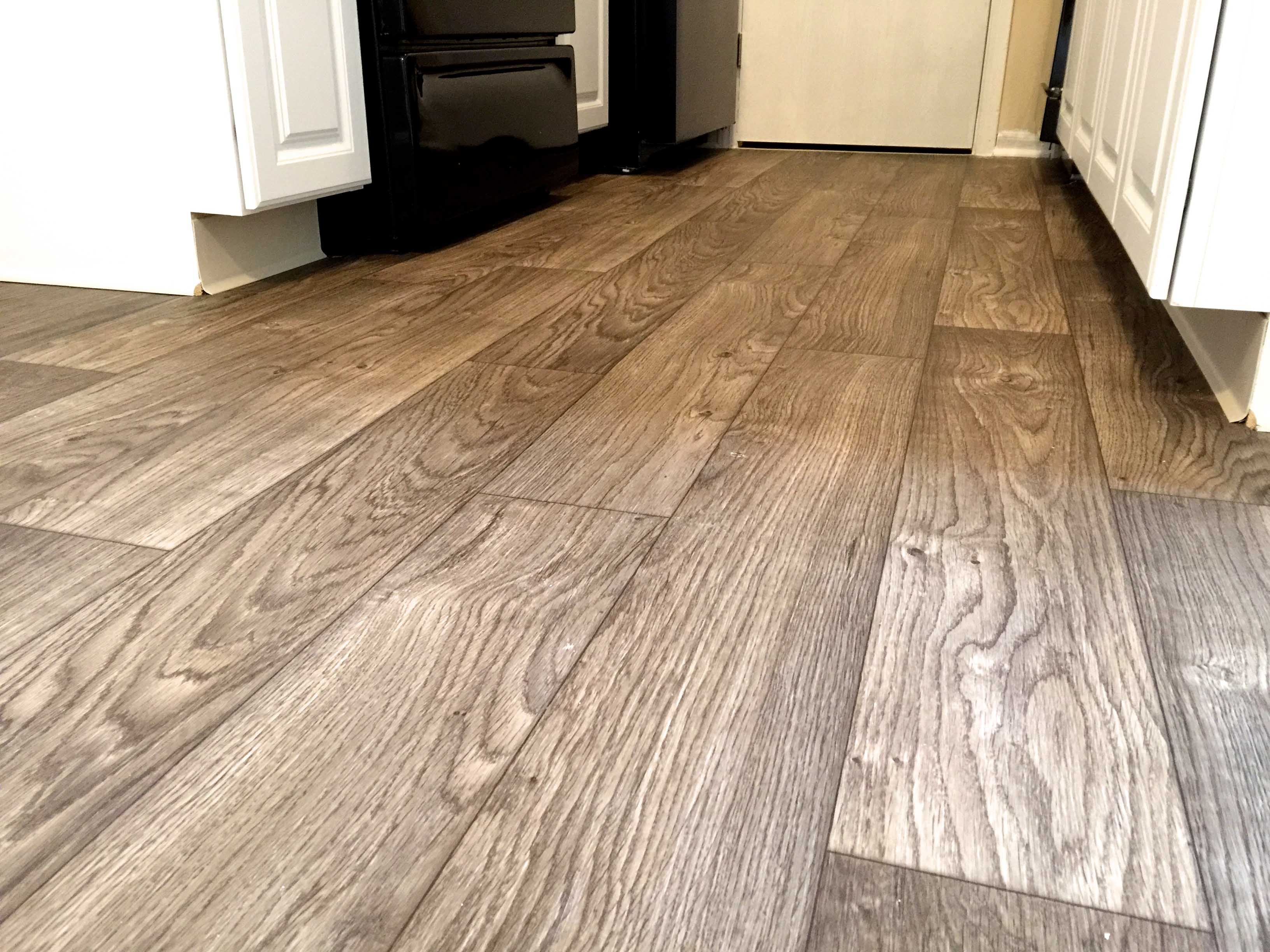 Imitation Wood Flooring Vinyl