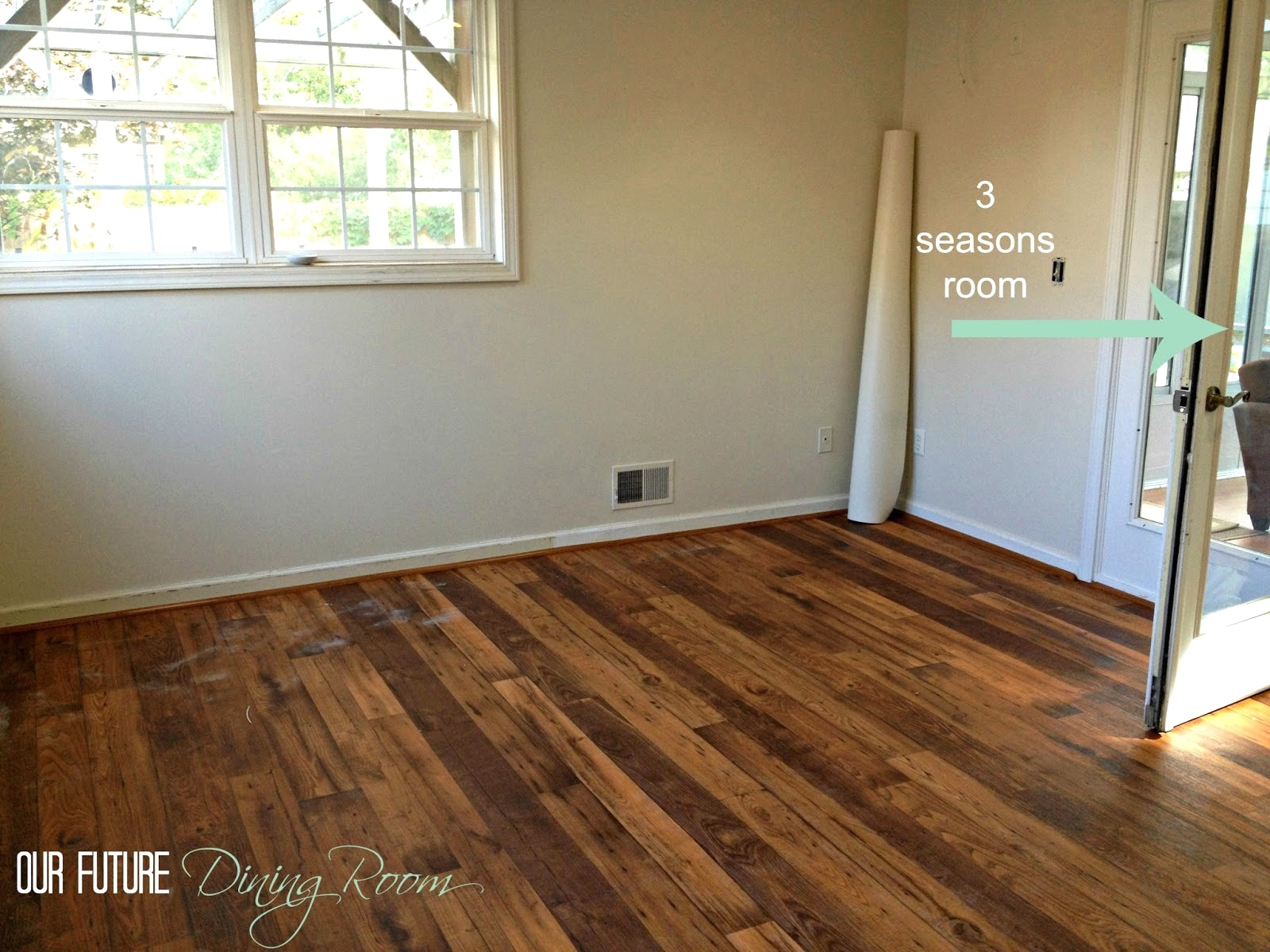 Linoleum Flooring Wood Look