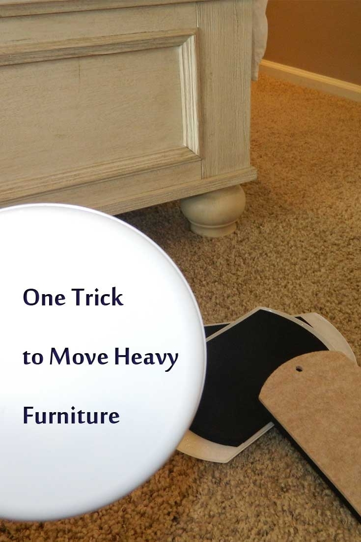 Moving Heavy Furniture On Wood Floors