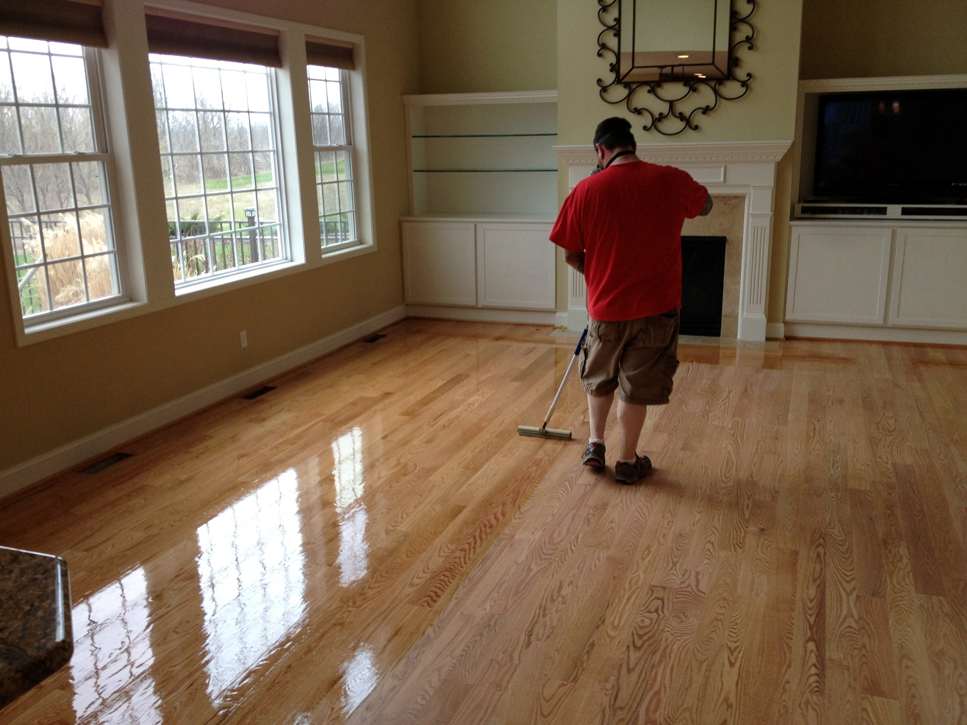 Permalink to Refurbishing Wood Floors