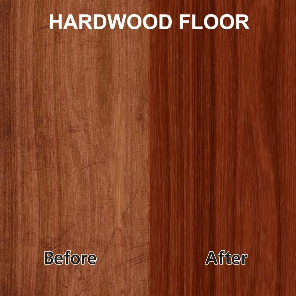 Rejuvenate Wood Floor Polish