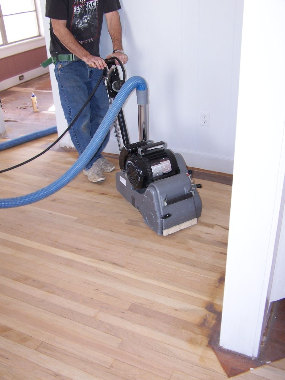 Wood Floor Sanders Machine