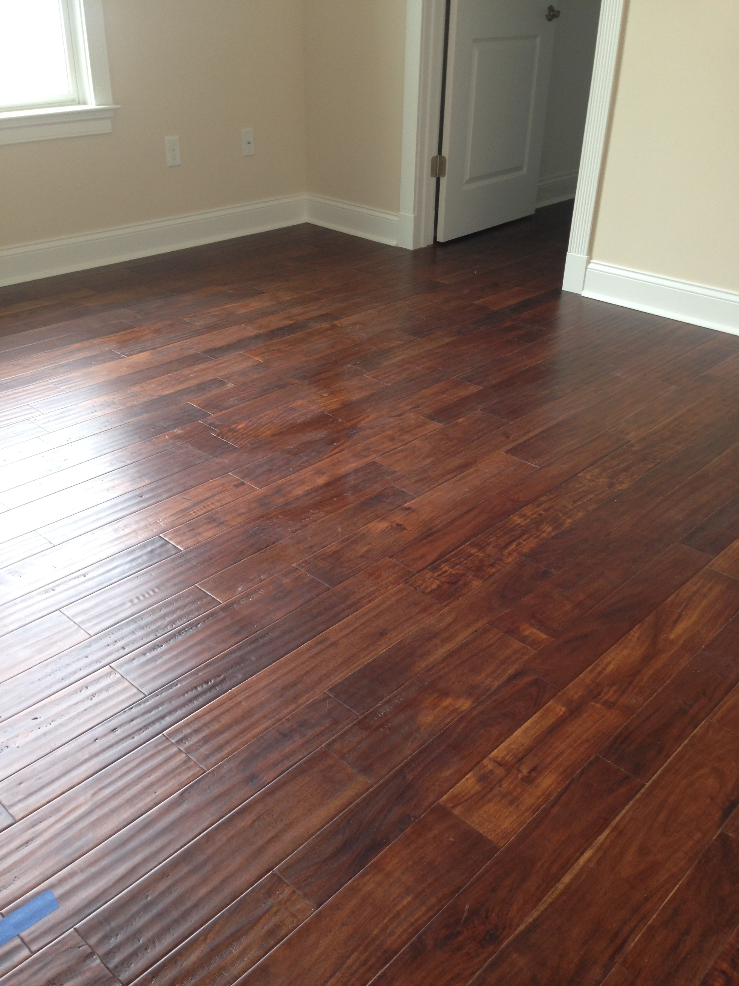 Wood Flooring Random Widths