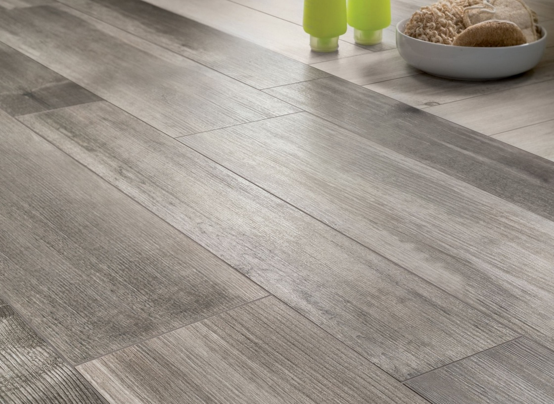 Wooden Look Floor Tiles