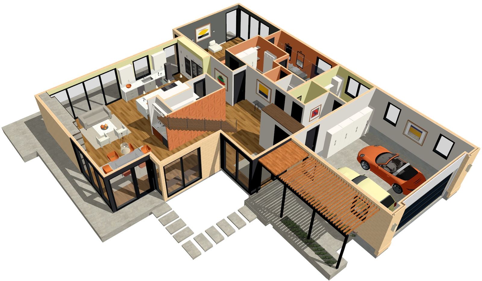 3d Home Design Basement