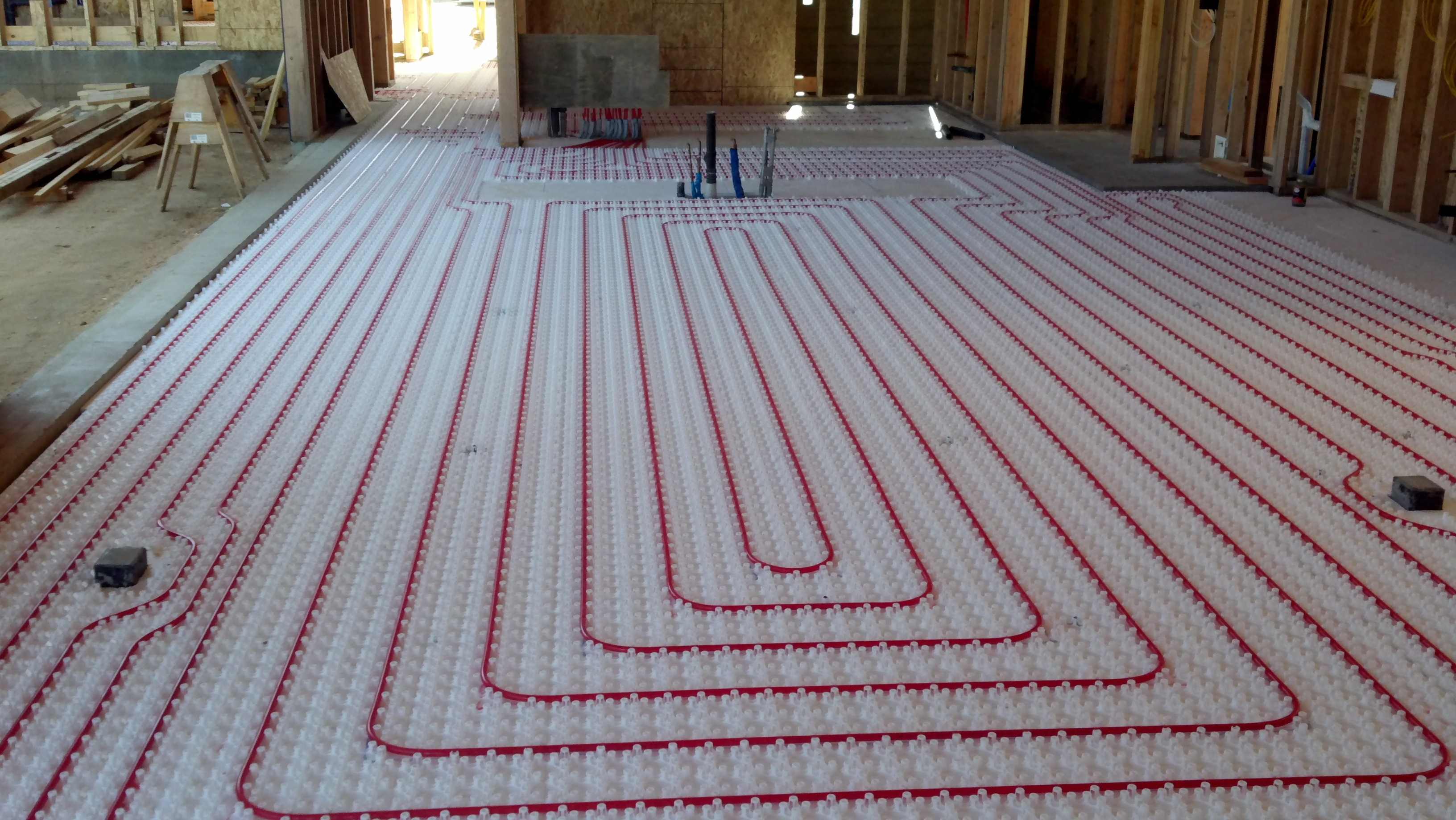Adding Radiant Floor Heat To An Existing Basement