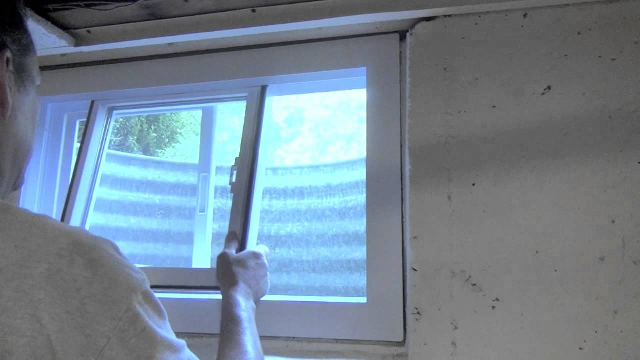 Air Conditioner Small Basement Window