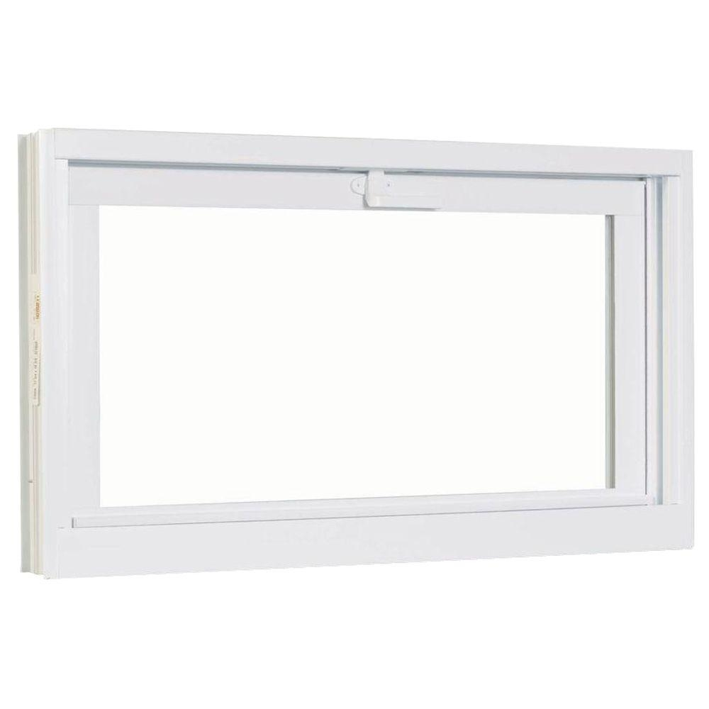 American Craftsman Basement Hopper Vinyl Windows