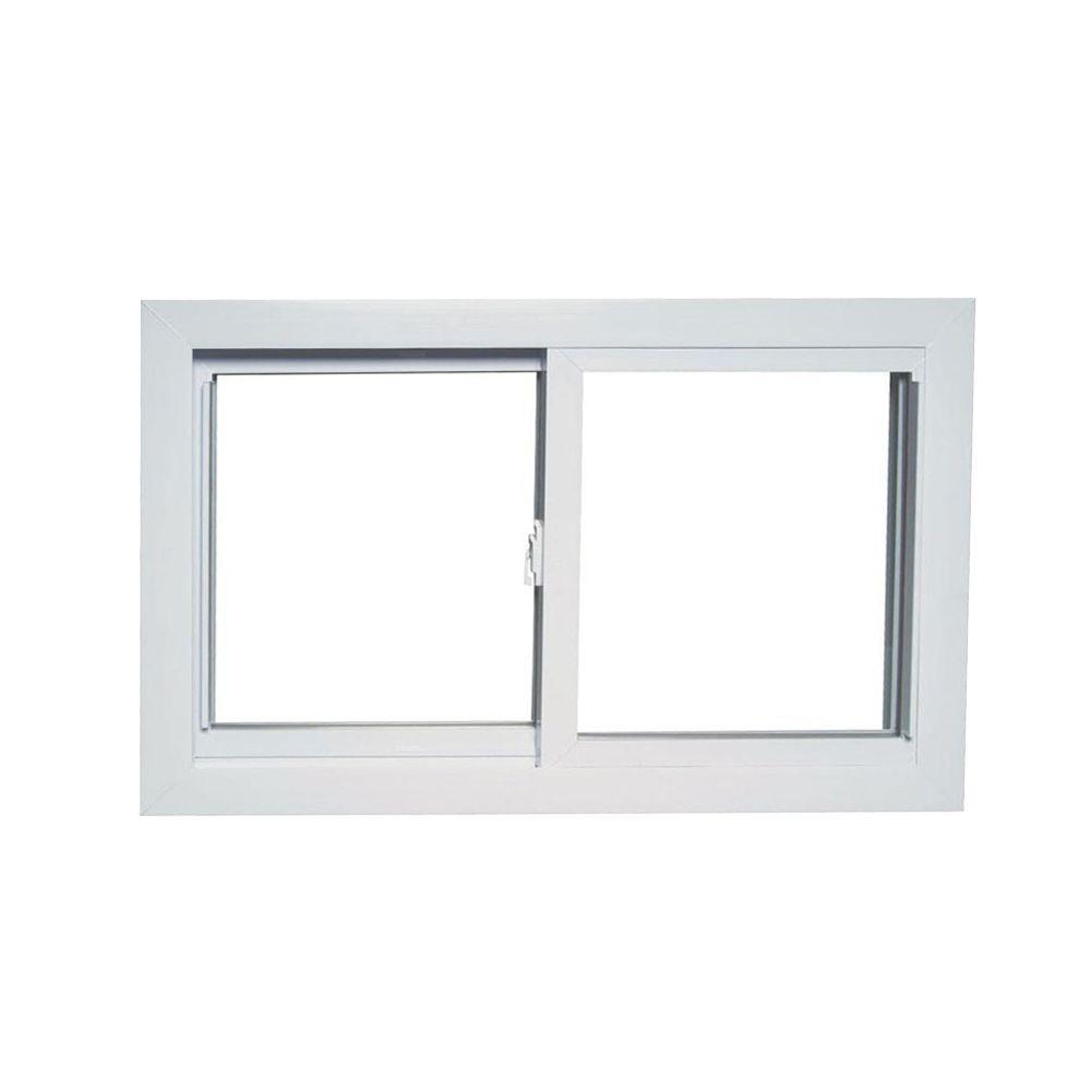 American Craftsman Slider Basement Windows