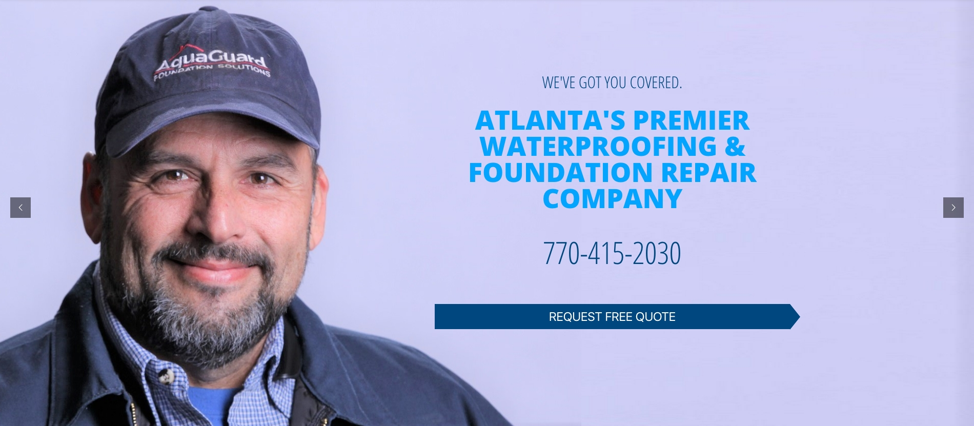 Aquaguard Basement Systems Marietta Ga