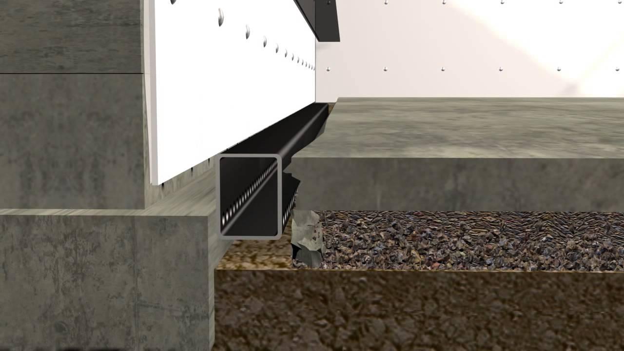 B Dry Basement System B Dry Basement System basement waterproofing installation of the b dry waterproofing 1280 X 720