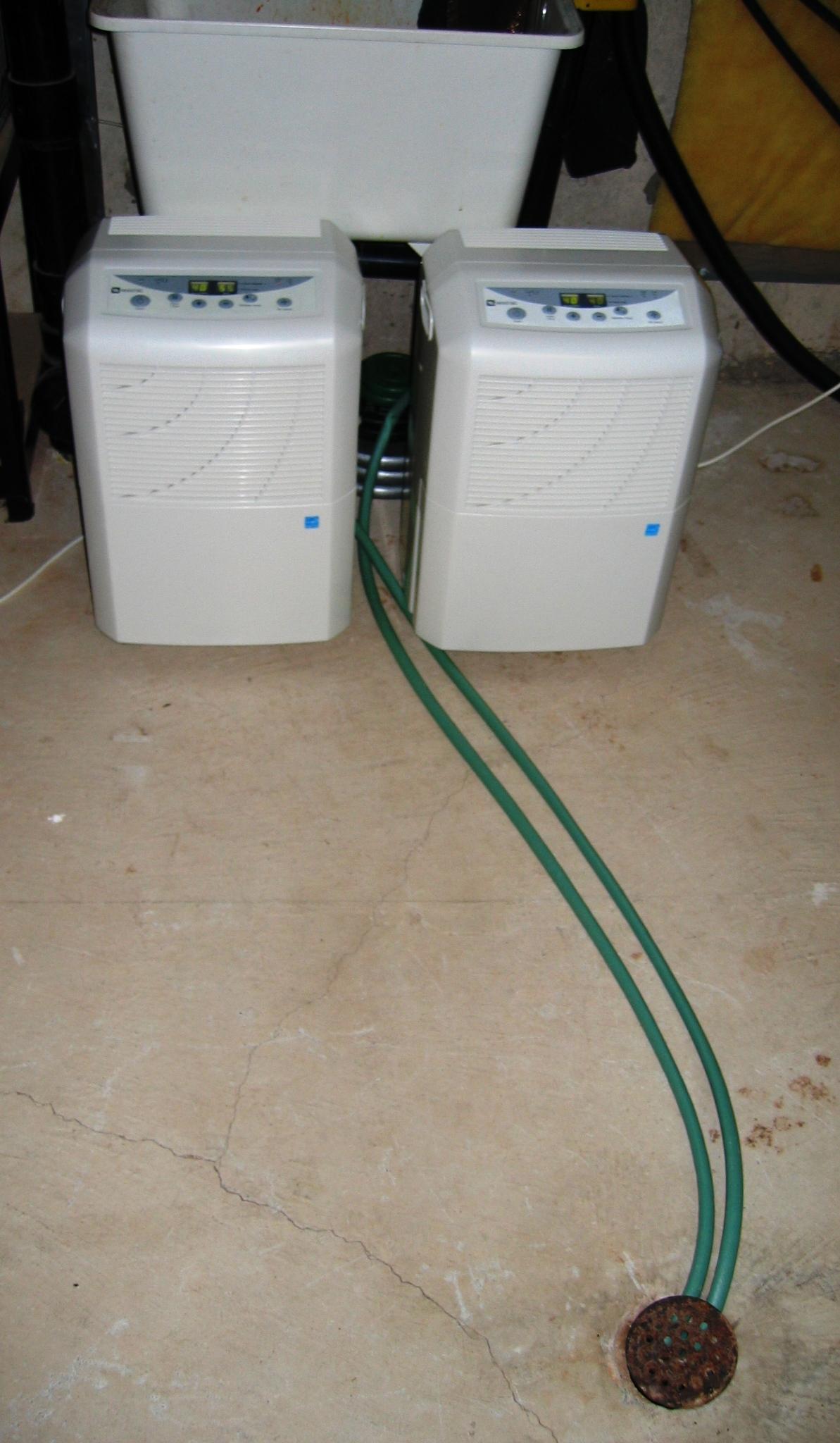 Basement Air Exchanger Dehumidifier