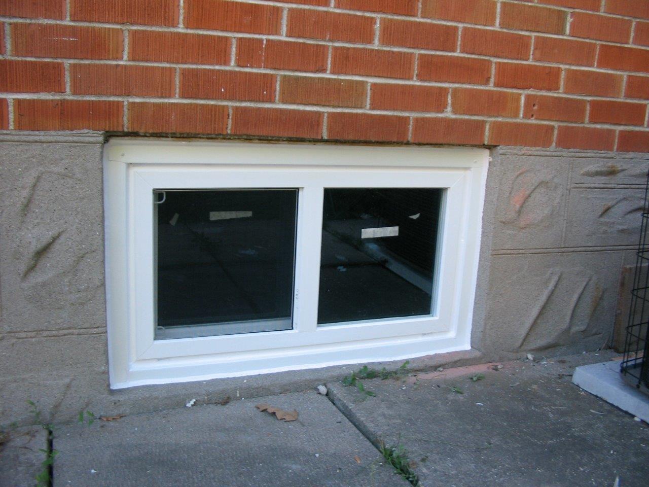Basement Awning Window Sizes