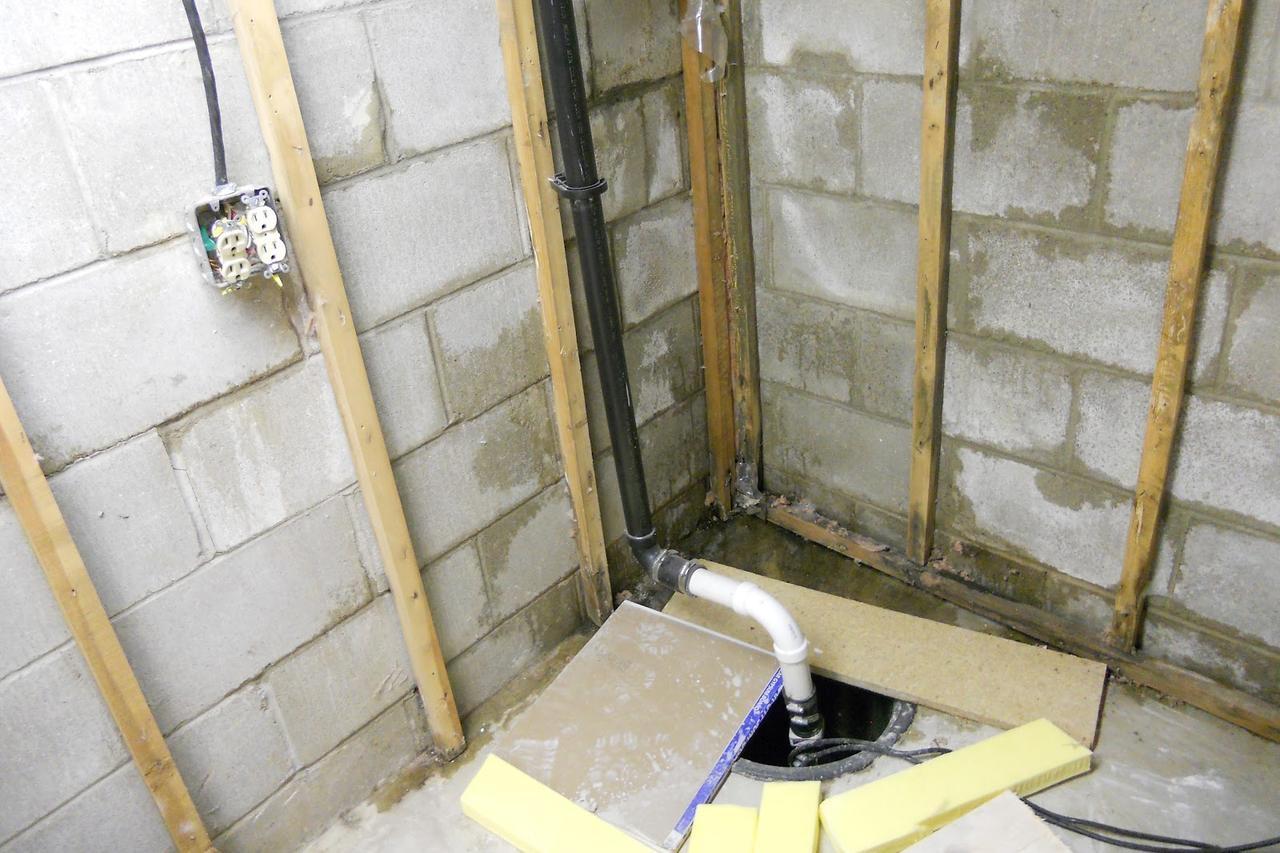 Basement Bathroom Sump Pump