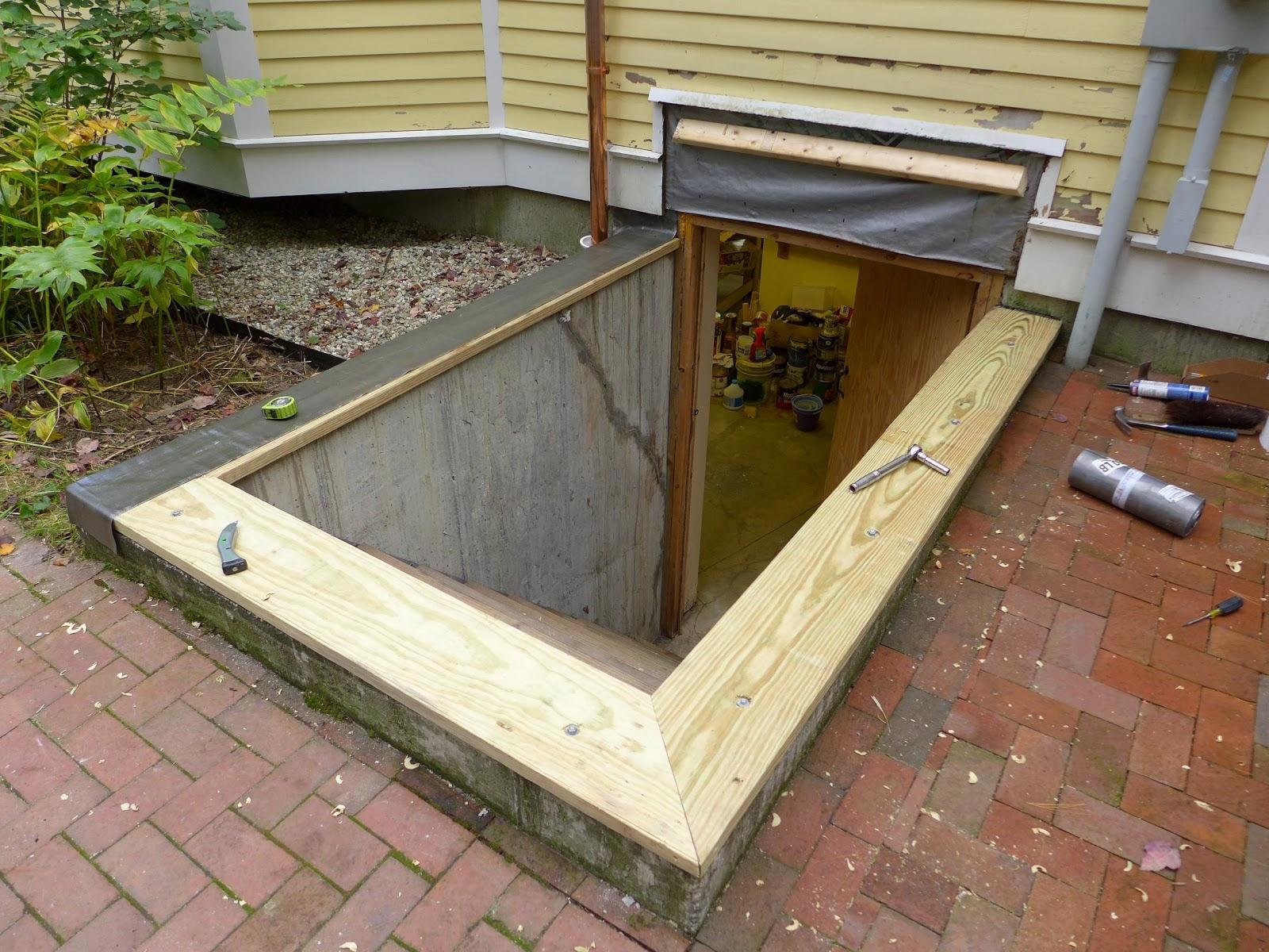 Basement Bulkhead Door Plans