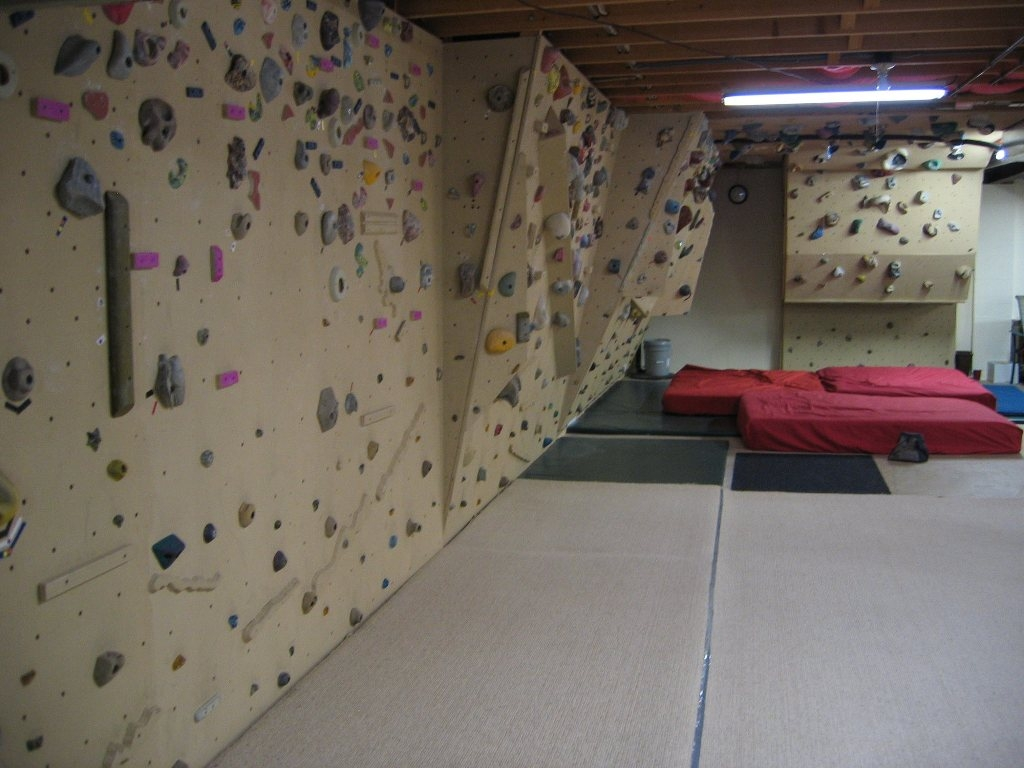 Basement Cement Wall Covering Ideas