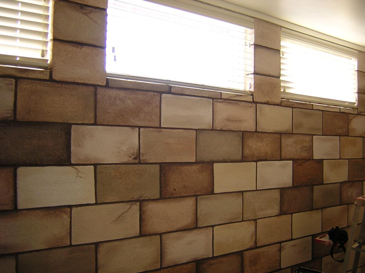 Basement Concrete Block Wall Ideas