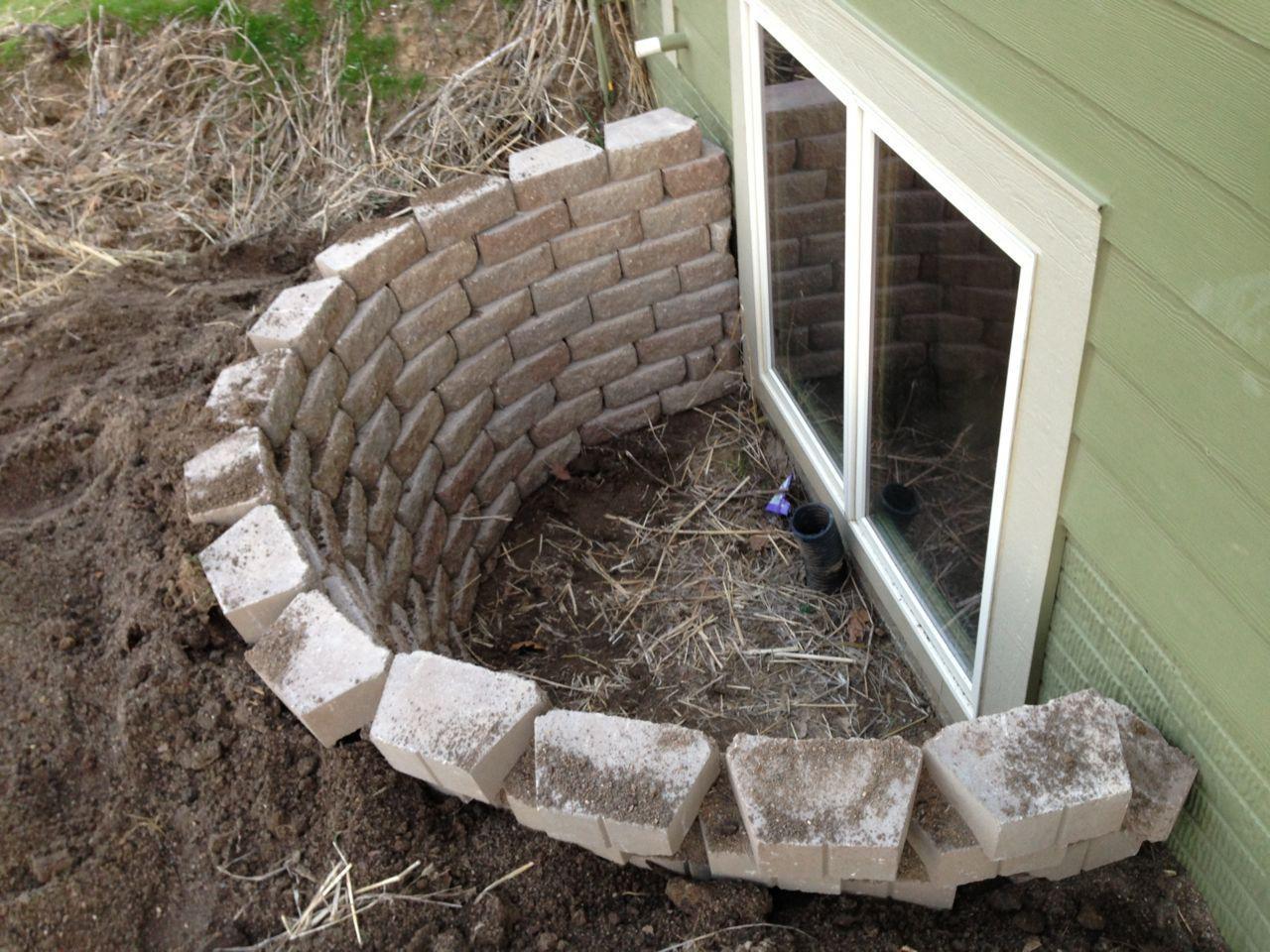 Basement Egress Window Well Ideas