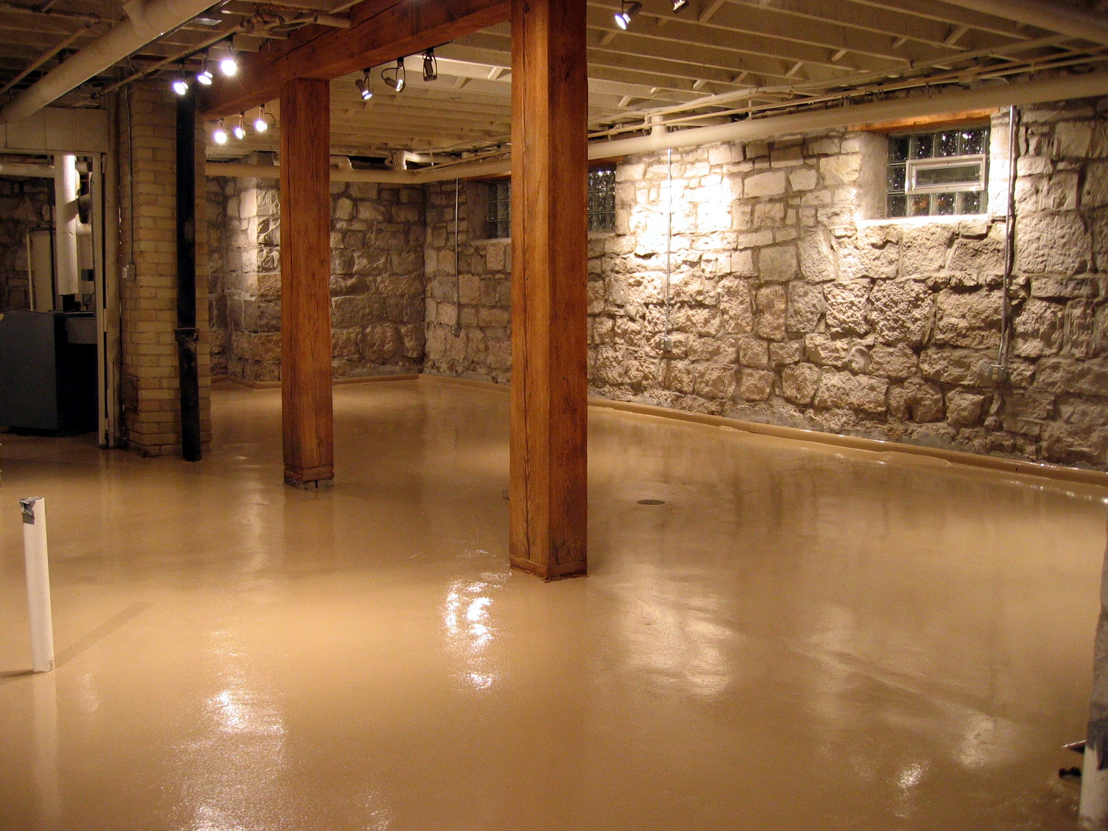 Basement Epoxy Floor Colors
