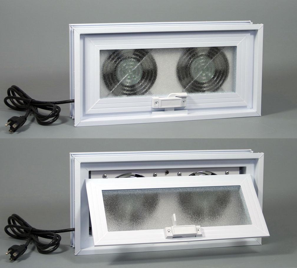 Basement Exhaust Fan Window