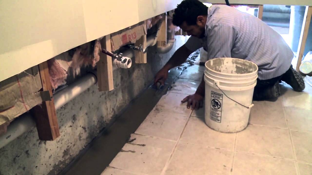 Basement Exterior Wall Drainage System
