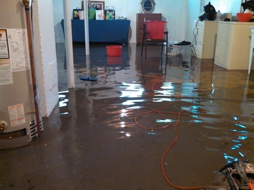 Basement Flooded Now Smells Like Mildew