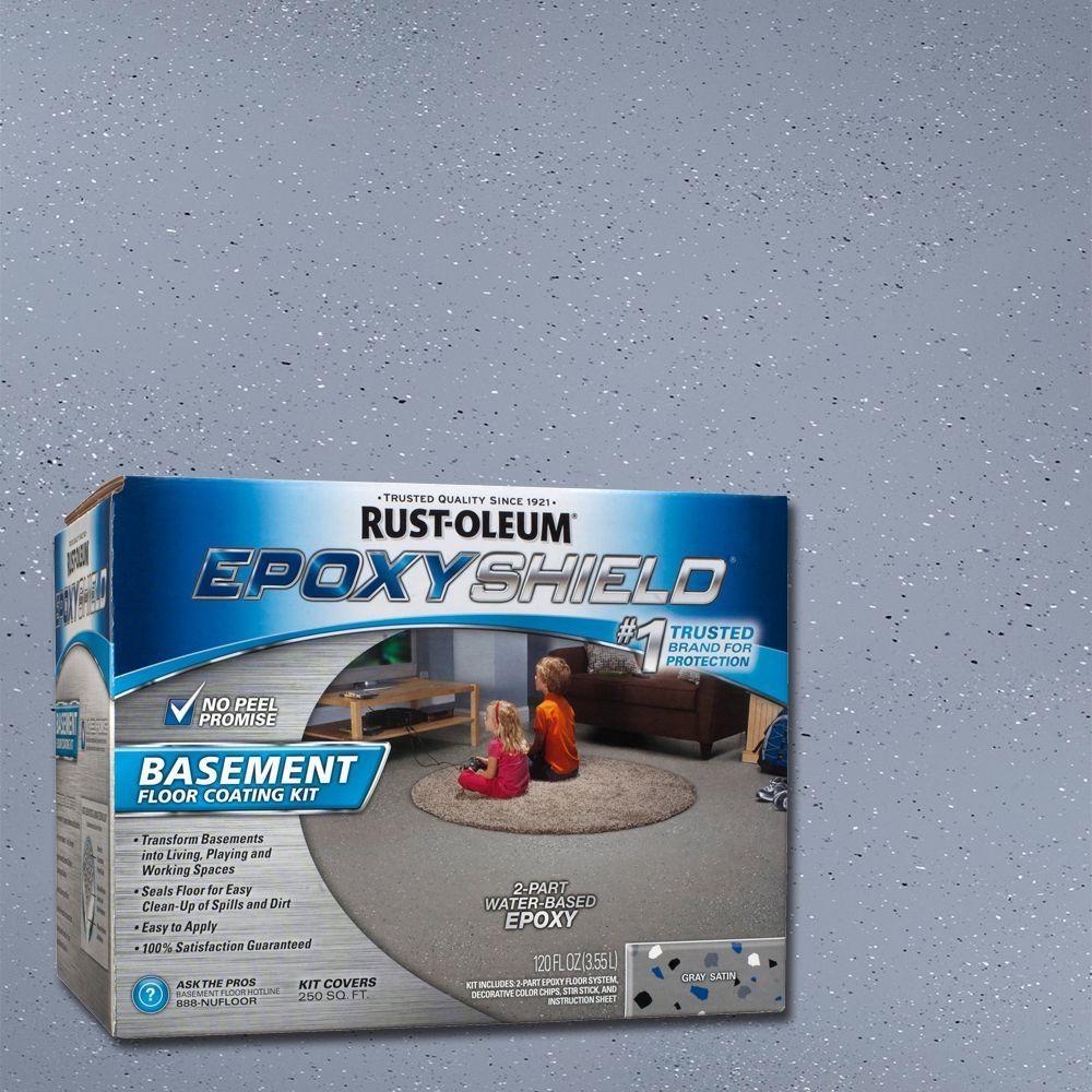Basement Floor Coating Kit