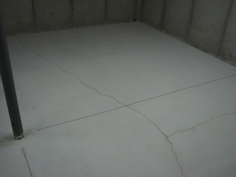 Basement Floor Cracks Normal