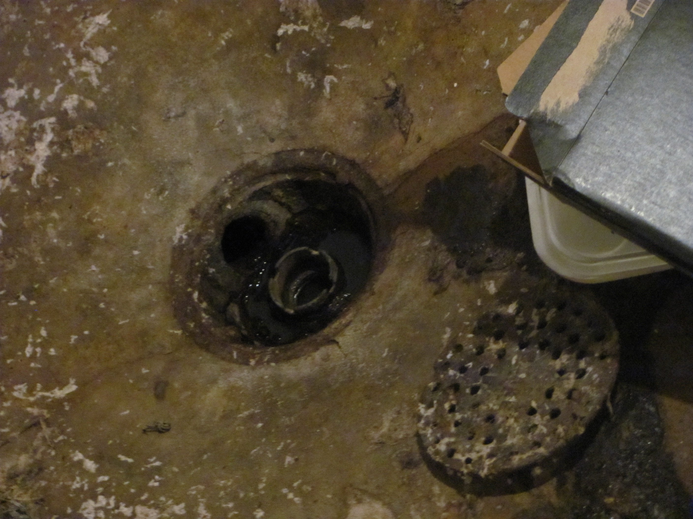 Basement Floor Drain Backup Valve