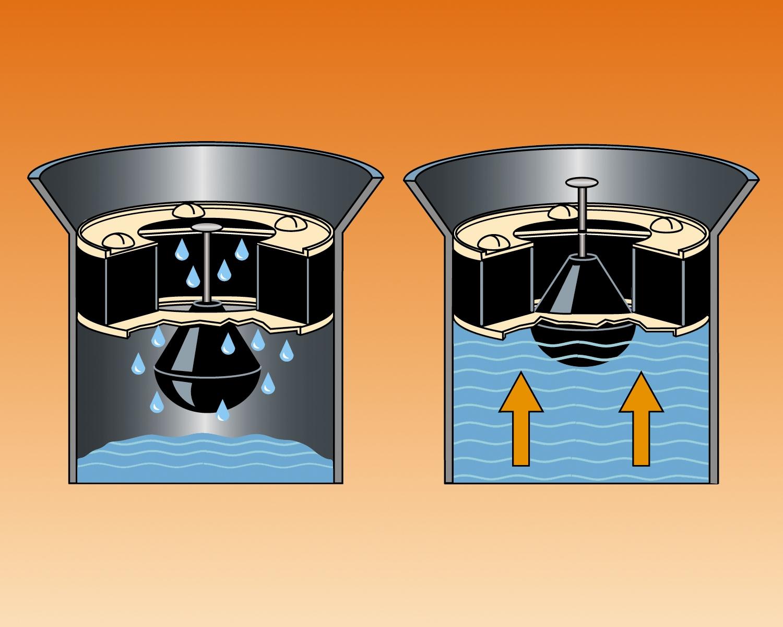 Basement Floor Drain Float Plug