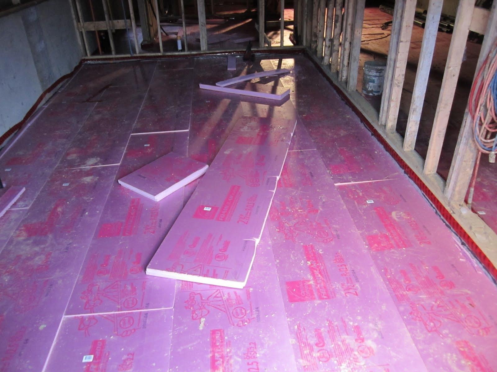 Basement Floor Insulation Foam